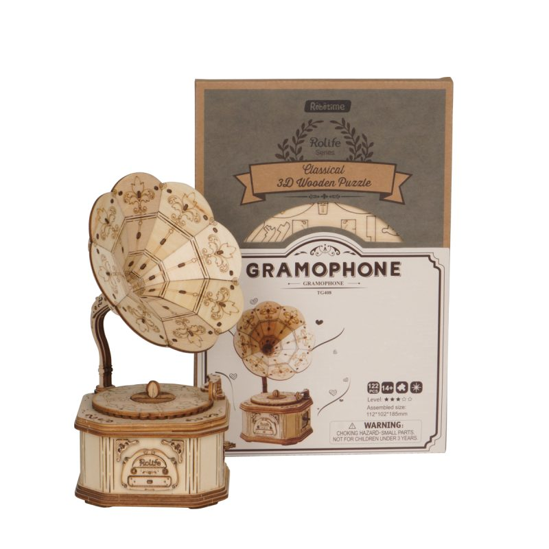 TG408 Gramophone package