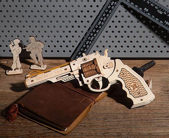 Robotime Justice Guard gun toys