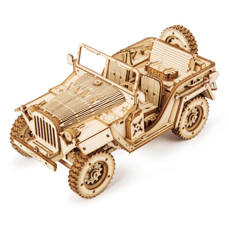 ROKR scale model army field car MC701
