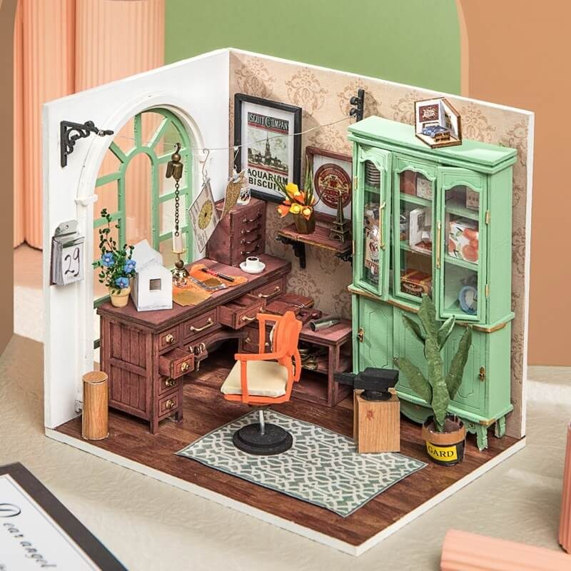 Robotime-DIY-Dollhouse-Miniature-DGM07-Jimmy-s-Studio-2