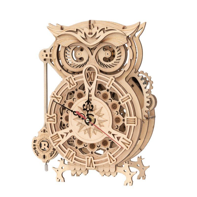 rokr-mechanical-owl-clock-lk503