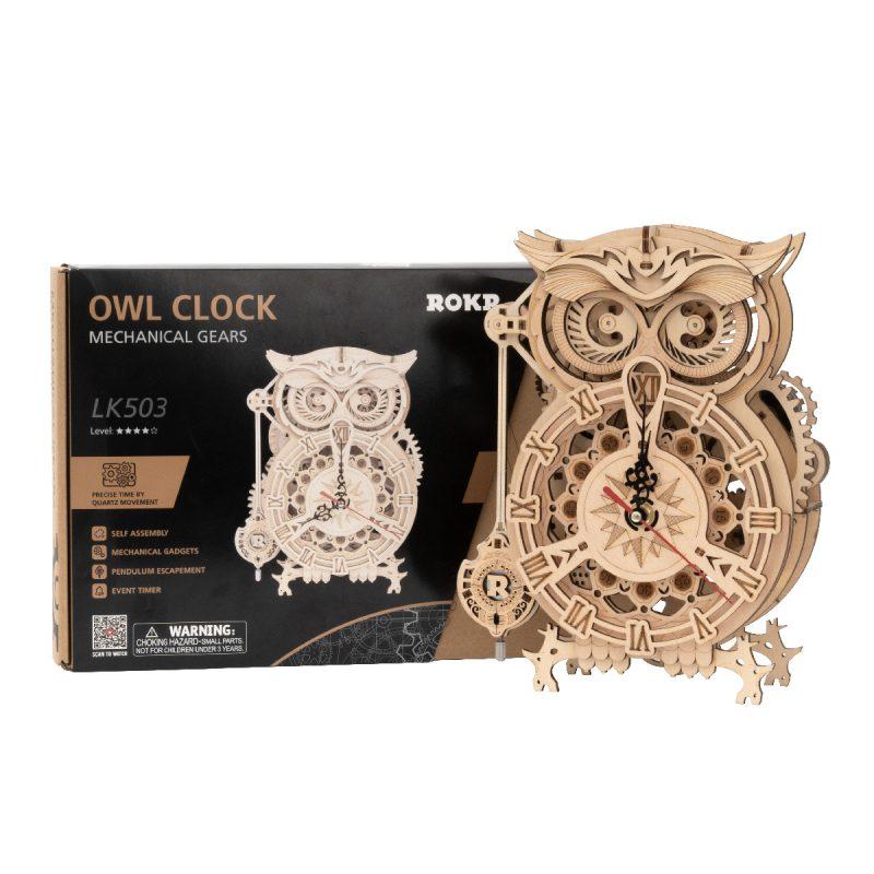 Owl Clock LK503