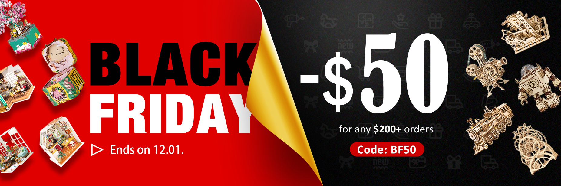 black friday gift discount 2020