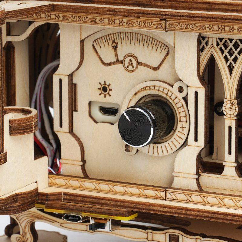 🔥 New Arrival | DIY Crank Classic Gramophone LKB01