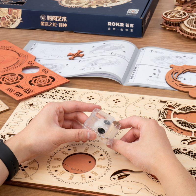 Zodiac Wall DIY Clock Time Engine LC601