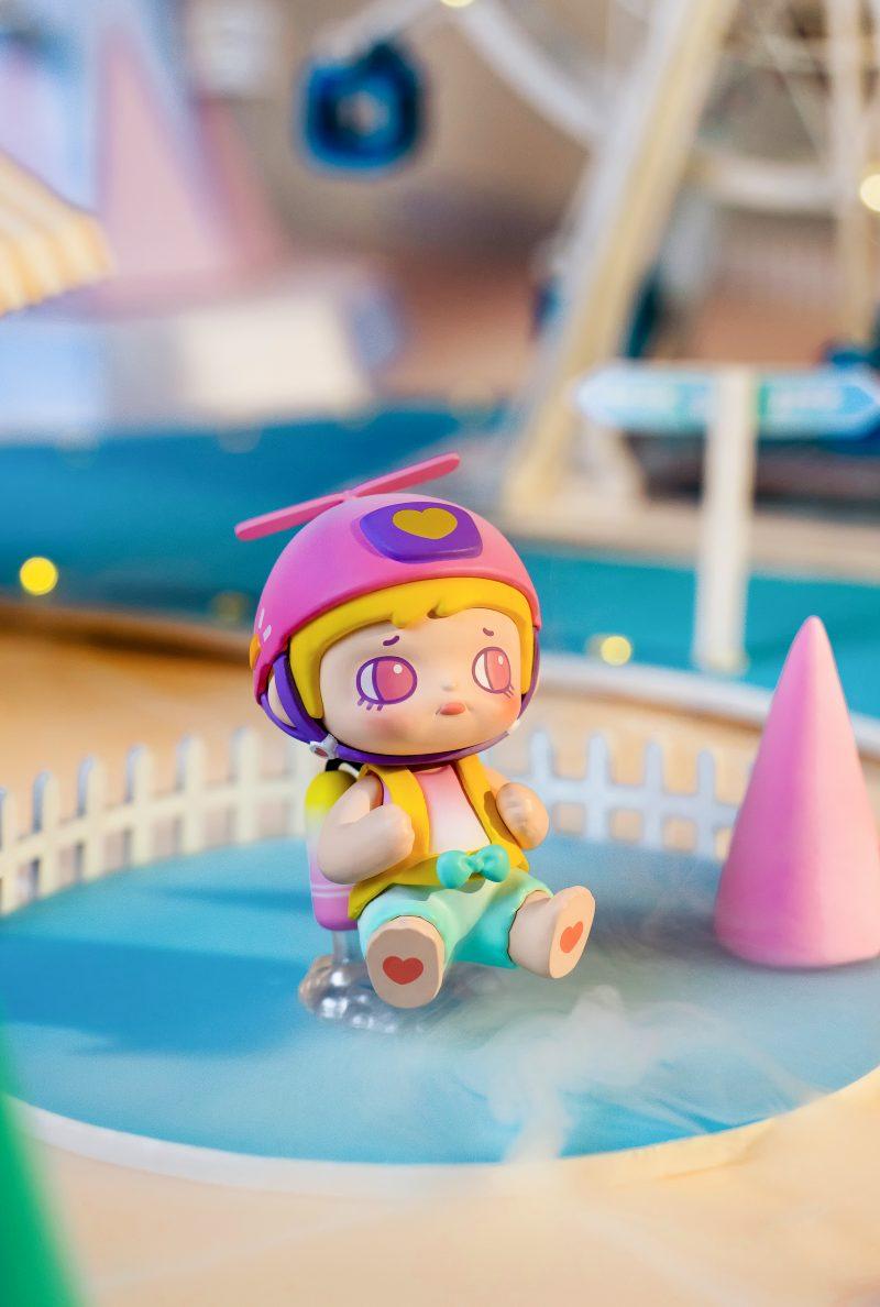 Details about  /ROLIFE YOOLA Amusement Park Series Mini Figure Little Bear Designer Art Toy