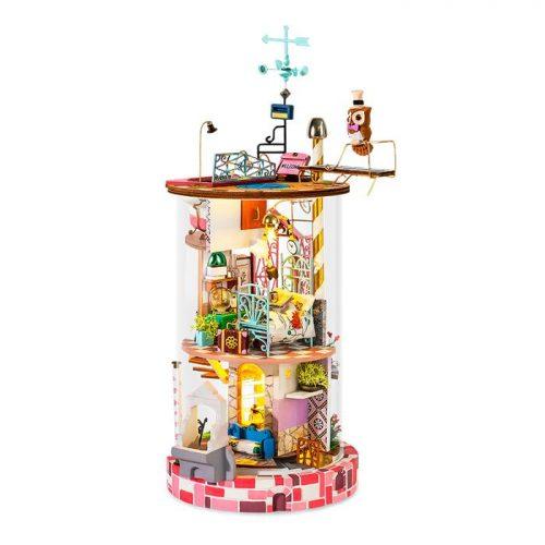 Bloomy House DIY Glass Miniature Dollhouse kit DS002